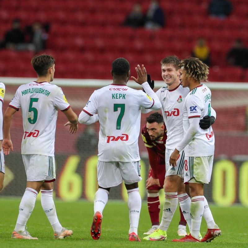 Galatasaray'ın rakibi Lokomotiv Moskova, bir puanı son dakikada kopardı