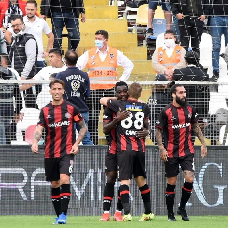 Karagümrük tek golle kazandı... Maç sonucu: Altay- VavaCars Fatih Karagümrük: 0-1