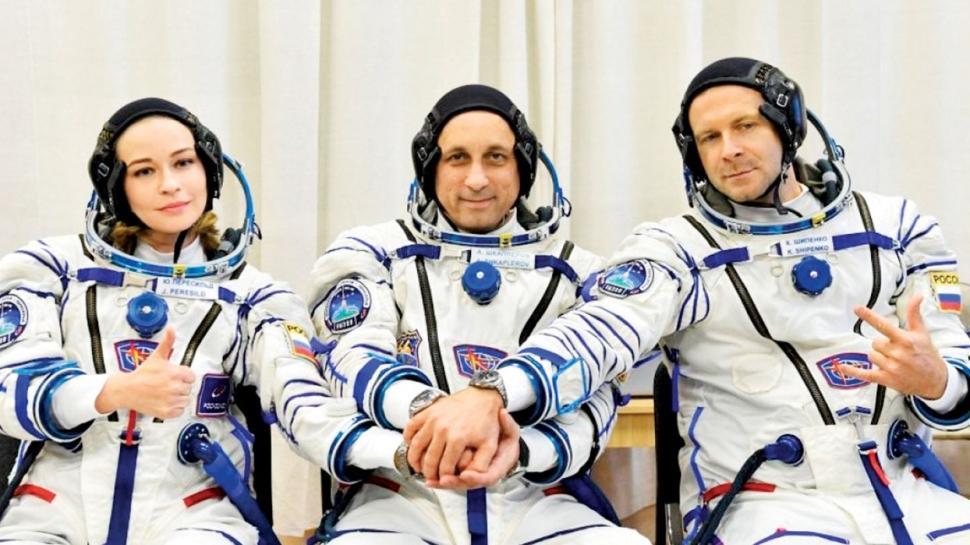 Ruslar uzayda ilk filmi çekip döndü