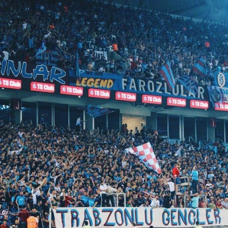 Trabzonspor taraftarı Fenerbahçe maçında tam destek verecek