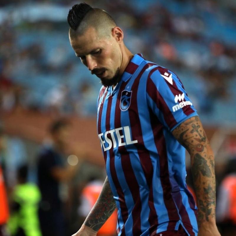 Trabzonspor'da Hamsik'in durumu netlik kazandı