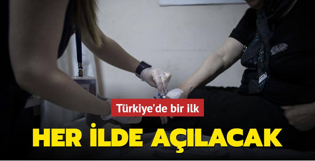 Türkiye'de bir ilk... Her ilde açılacak