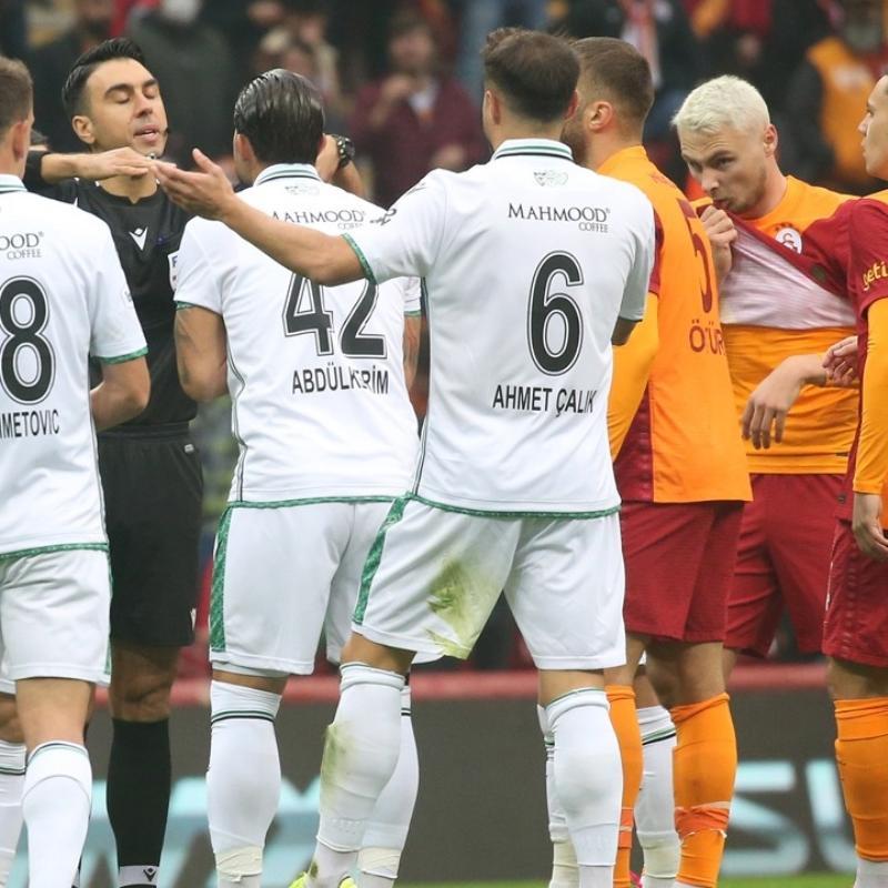 Konyaspor maç sonrası Galatasaray'a mesaj gönderdi