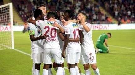 Adım adım zirveye... Maç sonucu: Atakaş Hatayspor-Gaziantep FK: 2-1