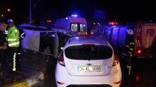 Tokat'ta meydana gelen kazada 5 kişi yaralandı