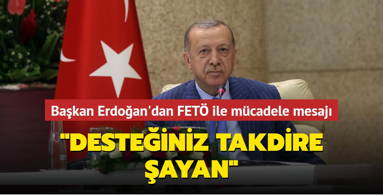Başkan Erdoğan'dan Togo'da FETÖ ile mücadele mesajı: Desteğiniz takdire şayan