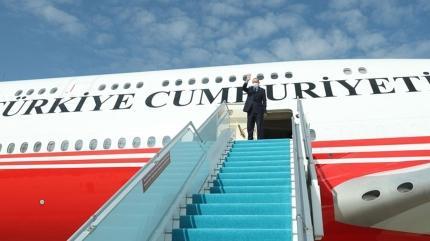 Başkan Erdoğan Togo'ya gitti