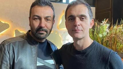 Pedro Alonso ile Saruhan Hünel buluştu