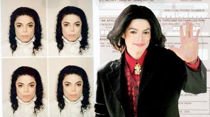 Michael Jackson'ın pasaport formu 75 bin dolara satılıyor
