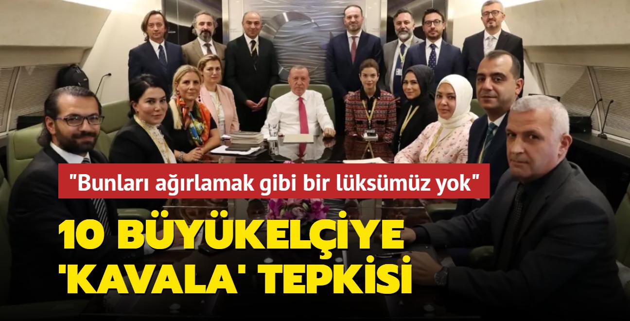 Başkan Erdoğan'dan 10 büyükelçiye 'Kavala' tepkisi: Bunları ülkemizde ağırlamak gibi bir lüksümüz yok