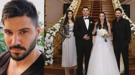 Tolgahan Sayışman kardeşi Nil Sayışmanı evlendirdi