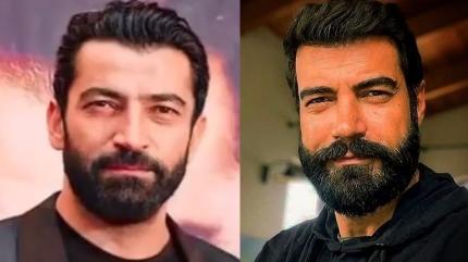 Kenan İmirzalıoğlu ve Murat Ünalmış'ın şaşırtan benzerliği dikkat çekti
