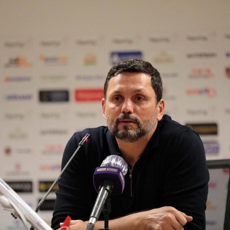 Gaziantep FK Teknik Direktörü Erol Bulut'tan oyuncularına serzeniş: Maalesef bunları göremiyorum
