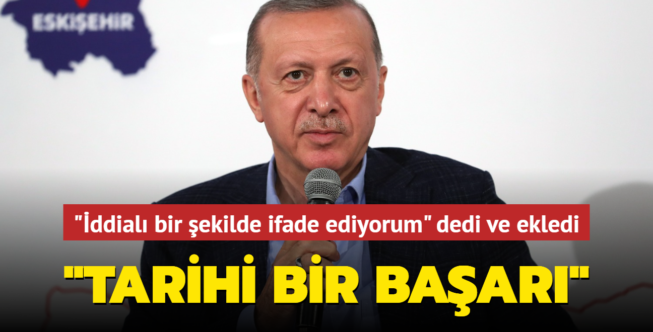 Başkan Erdoğan girişimci ve emekçi kadınlarla bir araya geldi: 'Tarihi bir başarının ifadesi'
