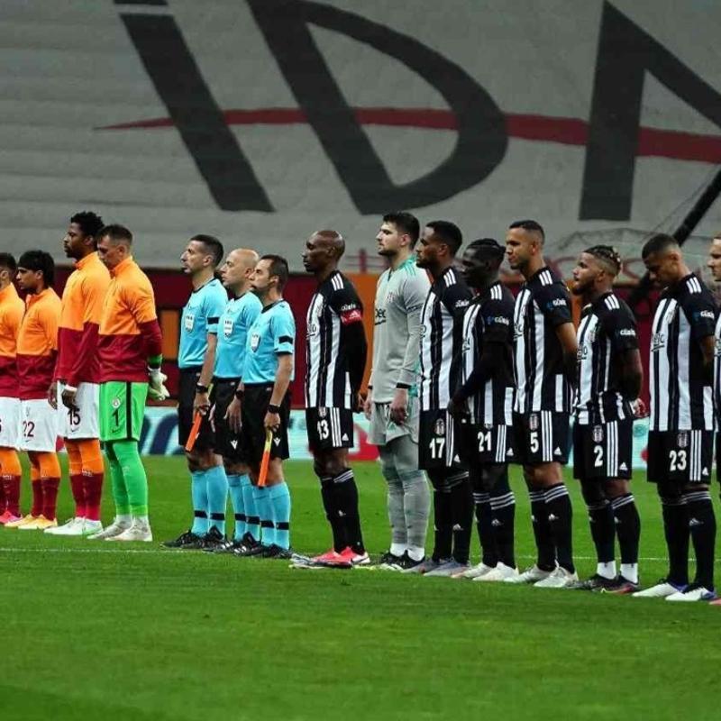 Beşiktaş ile Galatasaray 350. kez karşı karşıya geliyor
