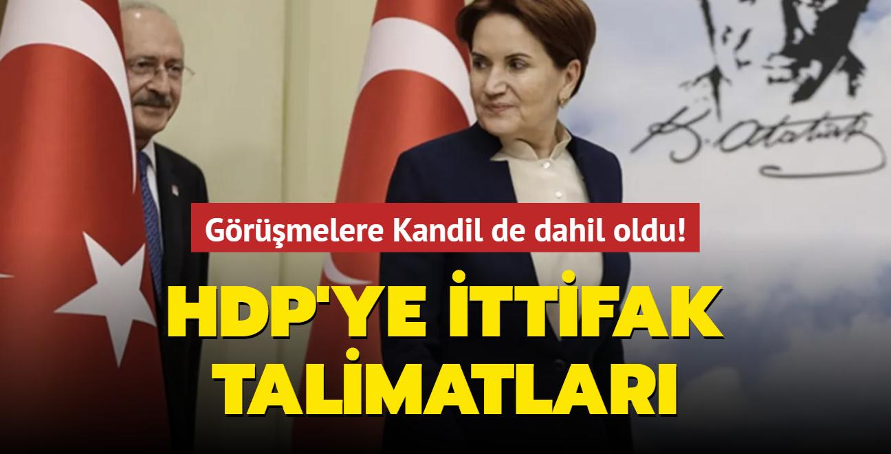 Görüşmelere Kandil de dahil oldu! HDP'ye ittifak talimatları
