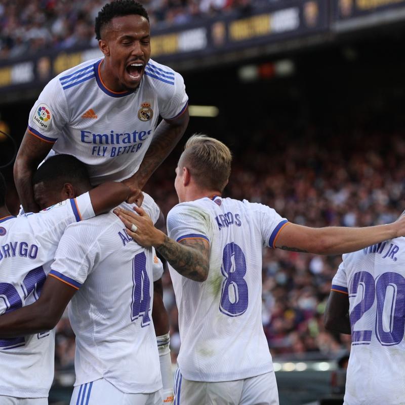 Real Madrid, El Clasico'da seriye bağladı