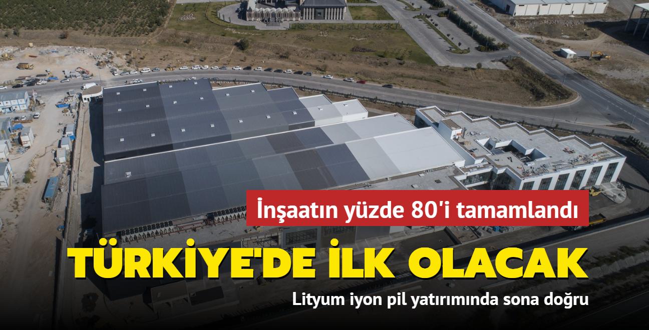 Türkiye'de ilk olacak... İnşaatın yüzde 80'i tamamlandı