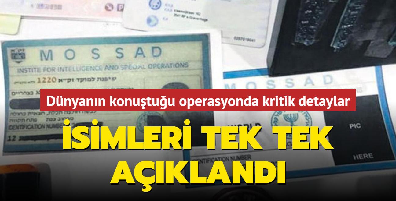 İsimleri tek tek açıklandı: İşte Mossad casusları ve Türkiye'deki görevleri