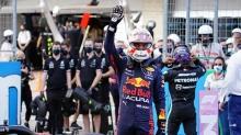 Max Verstappen, ABD'de kazandı