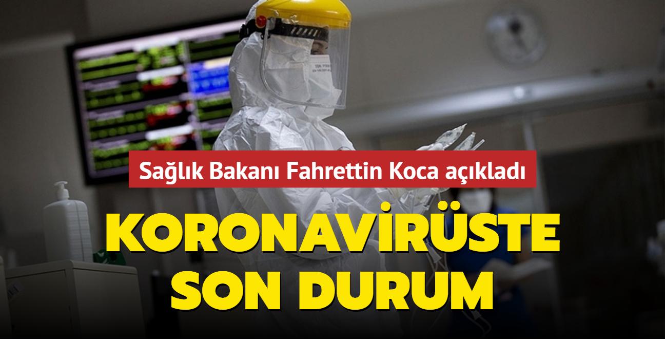 Sağlık Bakanı Fahrettin Koca Kovid-19 salgınında son durumu açıkladı... İşte 28 Ekim 2021 koronavirüs tablosu