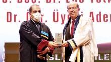 Ersin Tatar'a fahri doktora