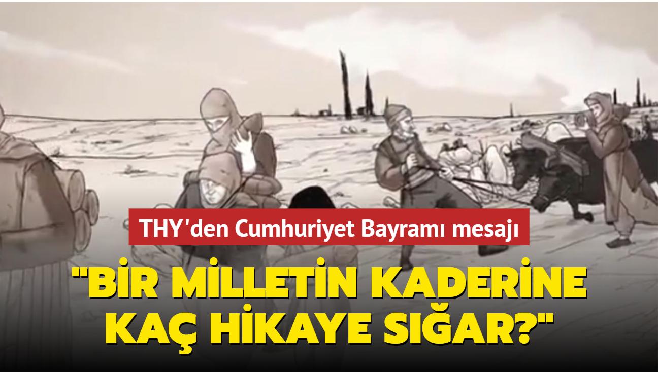 THY'den Cumhuriyet Bayramı mesajı
