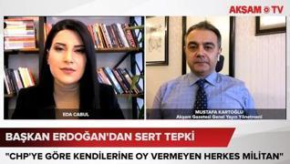 <h3>Akşam Gazetesi Genel Yayın Yönetmeni Mustafa Kartoğlu, CHP'nin 'Militan' provokasyonunu AKŞAM TV