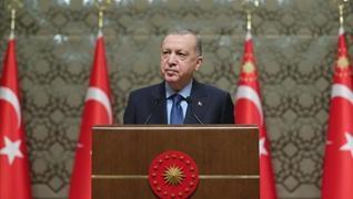 <p>Başkan Erdoğan'dan yerli aşı açıklaması</p><p>'3 AŞI ADAYIMIZ...'</p><p>Yerli aşı ç