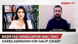 <p>Süper Lig'in 27.haftasında Beşiktaş, düşme hattından kurtulmak isteyen Yukatel Denizlispor'u Voda