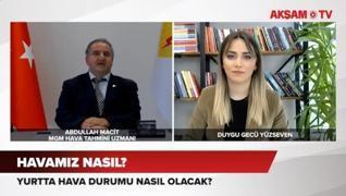 <p>İstanbul'da ve yurtta  hava durumu nasıl olacak yağışlar gelecek mi?</p><p>'İstanbul özeli