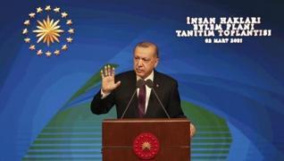 <p>Başkan Recep Tayyip Erdoğan, İnsan Hakları Eylem Planı'nı açıkladı. İnsan Hakları Eylem Planı'nın