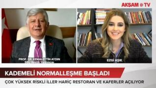<p>Türkiye'nin merakla beklediği kontrollü normalleşme süreci başladı. Başkan Erdoğan Kabine toplant