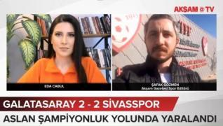 <p>Galatasaray Süper Lig'in 29. haftasında  Demir Grup Sivasspor'u sahasında konuk etti. Maç 2-2 ber