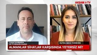<p>24 TV Güvenlik Analisti Yusuf Alabarda Türk SİHA'ları ile ilgili şunları söyledi:</p><p>Al