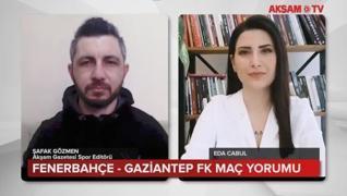 <p>Spor Toto Süper Lig'de Fenerbahçe konuk ettiği Gaziantep FK'yi 3-1 mağlup ederek şampiyonluk yarı