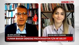 <p>Dışişleri Bakanı Mevlüt Çavuşoğlu, Yunanistan Dışişleri Bakanı Nikos Dendias ile görüşmesinde ger