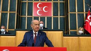 <p><span>MHP Genel Başkanı Devlet Bahçeli, partisinin Türkiye Büyük Millet Meclisi'nde (TBMM) düzenl