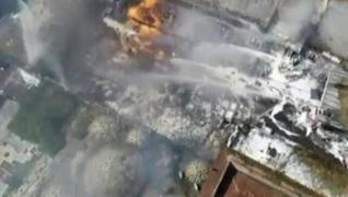 <p> İstanbul Fatih'te kimyasal maddelerin bulunduğu depoda yangın çıktı.</p>