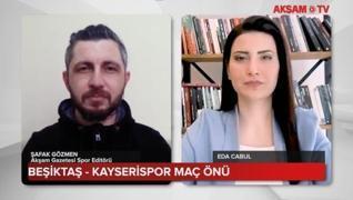 <p>Beşiktaş, Süper Lig'in 37.haftasında Kayserispor'u konuk edecek... Vodafone Park'taki mücadele ön