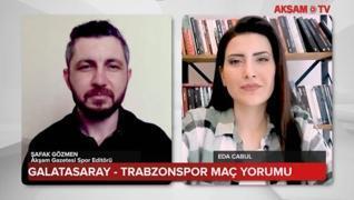 <p><strong>Süper Lig'in 36. haftasında Galatasaray, evinde Trabzonspor'u konuk etti. Zorlu 90 dakika