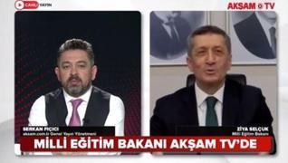 <p>Milli Eğitim Bakanı Ziya Selçuk'un  aksam.com.tr Genel Yayın Yönetmeni Serkan Fıçıcı'nın konuğu o