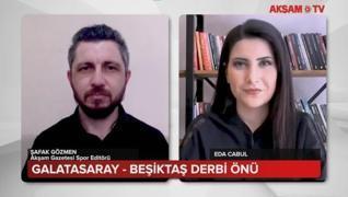 <h3>Maç öncesi iki takımın son durumunu Akşam Gazetesi Spor Editörü Şafak Gözmen AKŞAM TV'ye değerle