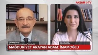 <p>Akşam Gazetesi Ankara Temsilcisi Emin Pazarcı AKŞAM TV'ye anlattı.</p>