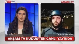 <p>İsrail polisi Mescid-i Aksa'da Filistinlilere saldırıyor! Bölgedeki son durumu TRT WORLD Kudüs Mu
