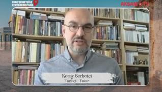 <p>Tarihçi-Yazar Koray Şerbetçi bu hafta Kestirmeden Tarih  programında Kudüs özel bölümüyle karşını
