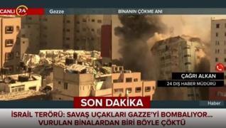 <p>İsrail ordusu, Gazze'de içinde Amerikan merkezli haber ajansı Associated Press (AP) ile Katar mer