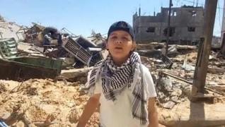 <p>İşgalci İsrail'in Gazze'yi abluka altına alması sonrası 13 yaşındaki Abdurrahman eş-Şanti, Filist