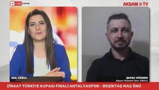 Ziraat Türkiye Kupası sahibini buluyor. Fraport  TAV Antalyaspor ile Beşiktaş, İzmir'de karşı karşıy