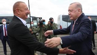<p>Başkan Recep Tayyip Erdoğan, 28 yıl sonra Azerbaycan ordusu tarafından Ermenistan işgalinden kurt